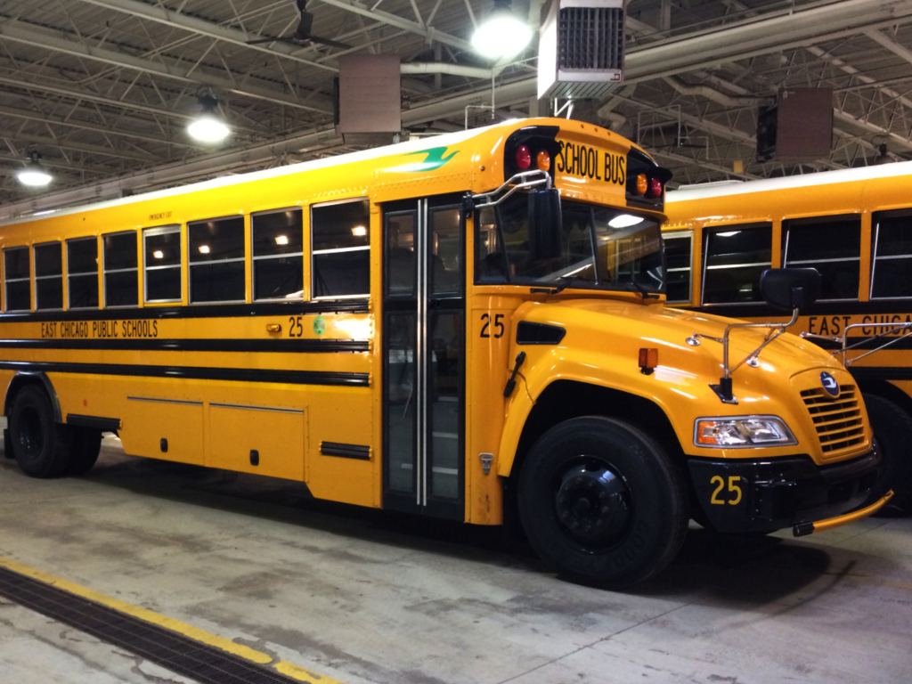 School District in East Chicago, Indiana, Purchases Propane Buses to