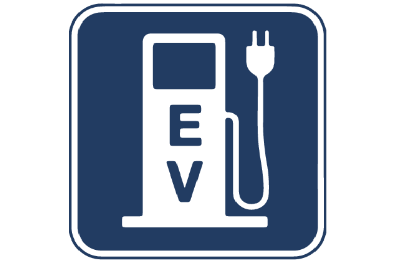 an electric vehicle sign