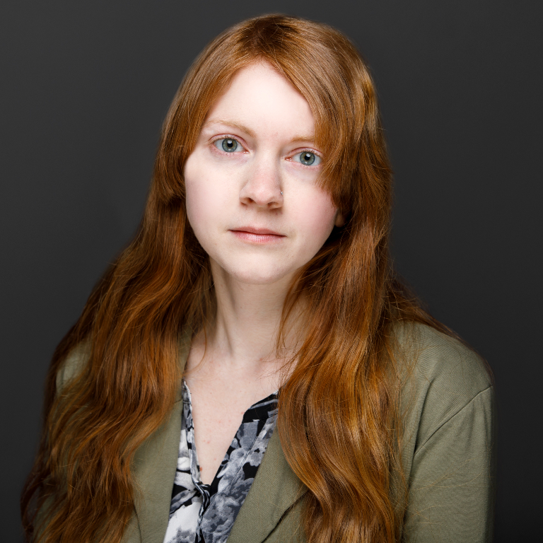 Decorative - a headshot of Abigail Sullivan