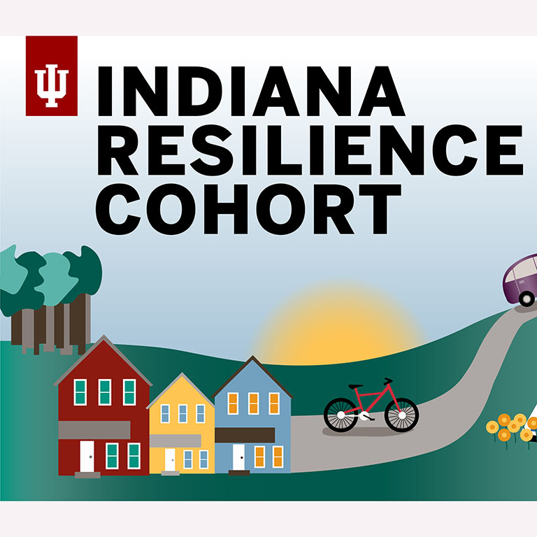 Graphic reading Indiana Resilience Cohort